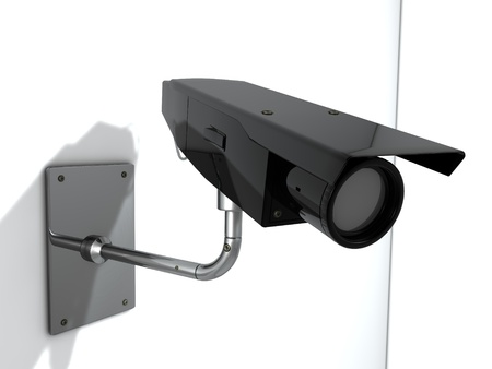 closed circuit television: Security cam