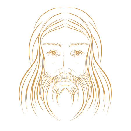 arisen: Jesus Christ illustration vector eps 8 Illustration