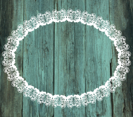 lace: lace white frame wood old Valentines Day vintage background