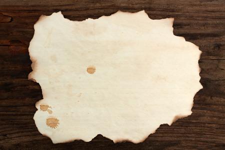 burnt wood: paper blank  burnt wood old spots  background