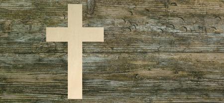 기독교 십자가 종이 잘라 나무 배경, 기독교, 기호 파노라마 스톡 콘텐츠