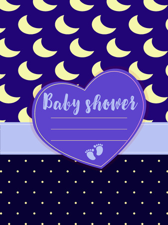 Ready-to-print layout baby shower. Sweet baby metric for a boy