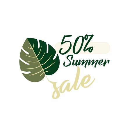 Seasonal sale - up to 50 discount with monster leaf