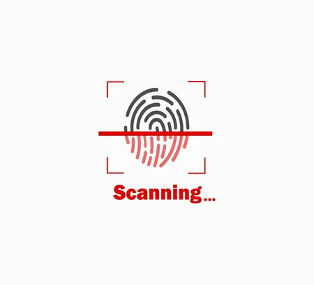Fingerprint biometric data scanning