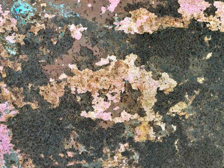 Dark worn rusty metal texture background. Rusty background texture