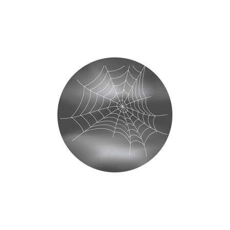 spider web halloween on transparent background