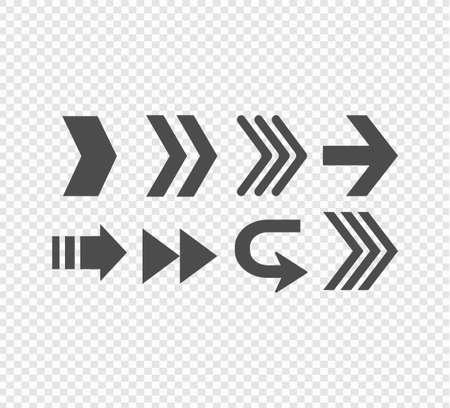 Arrows icons set.