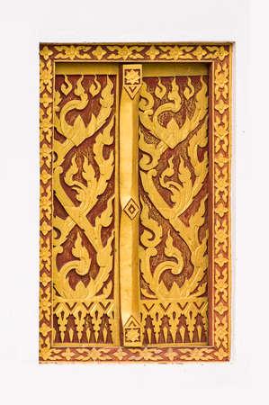 thai craft: Thai Craft : LAI THAI pattern in Temple Window - Art, Culture and Heritage of Thailand