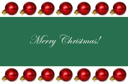 christmas wallpaper: Christmas card with Christmas border