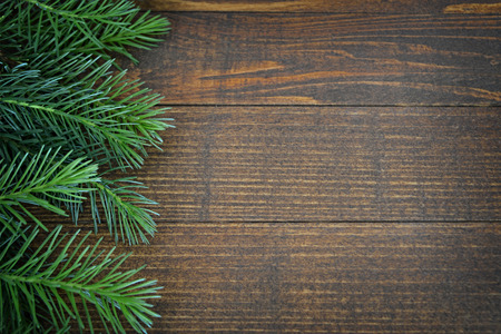 wood background: Christmas background
