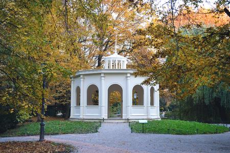 echo: Echo pavilion in Maksimir park, Zagreb, Croatia Stock Photo