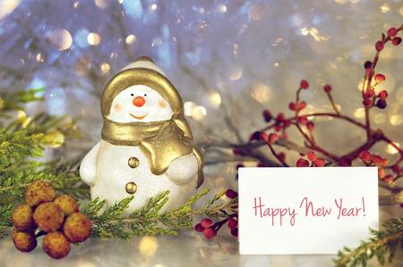 Happy New Year Stock Photo