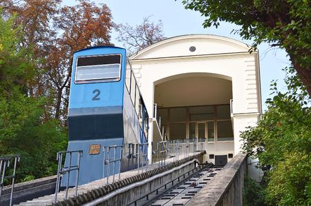Old funicular, Zagreb, Croatia