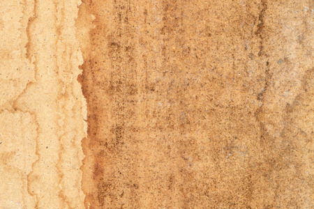 Wet stains on wooden surface Stock Photo