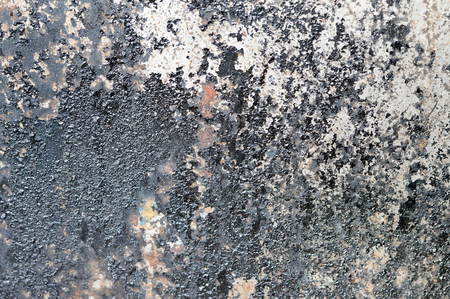 Grunge background. Sooty and rusty metal background