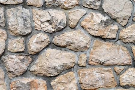 Steinmauer Hintergrund Standard-Bild