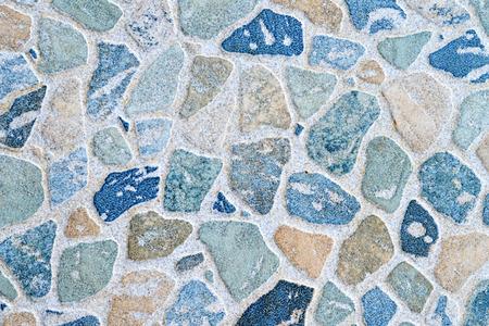 Pebble pattern on ceramic floor tile
