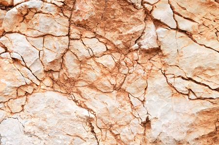 Cracked stone texture Imagens