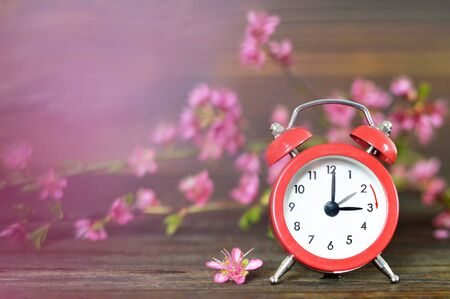 Spring forward. Daylight Saving Time