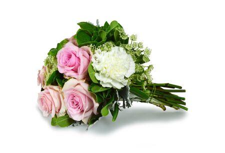 Bouquet of flowers isolated on white Zdjęcie Seryjne