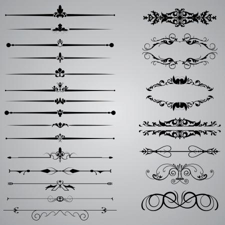 classic: Conjunto de veintid�s divisores para sus dise�os