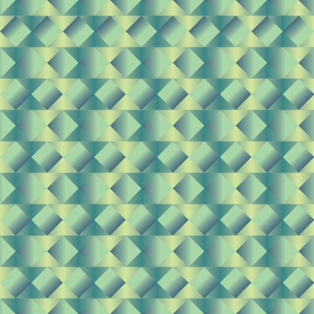 cuboid: a green cuboid seamless pattern in shades of green