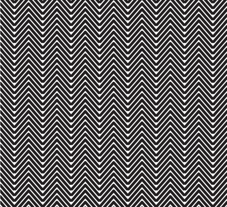 a traditional black and white herringbone seamless pattern Illustration