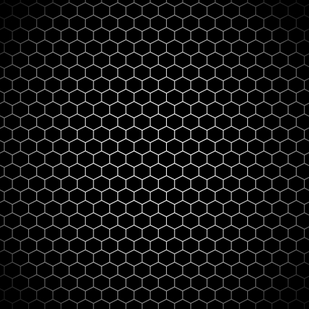 a metal looking seamlees pattern with hexagons
