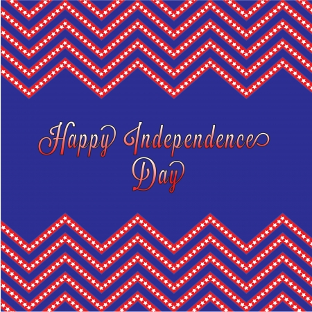 An american independence day background to celbrate the 4th of July Vector