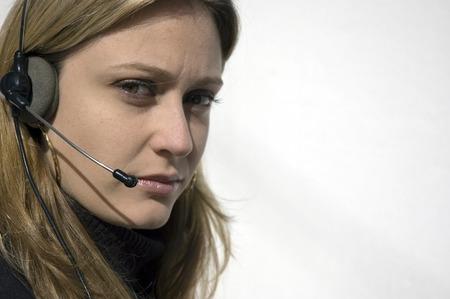 help desk woman photo