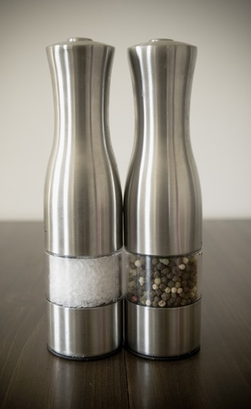 Salt and pepper grinders shakers
