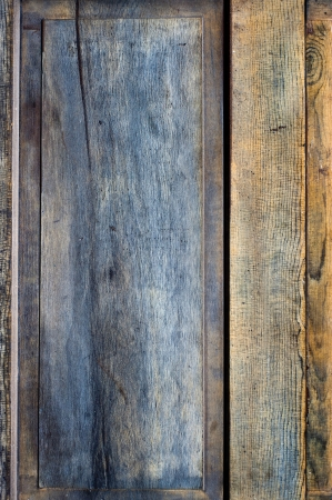 Old wooden panel texture. photo