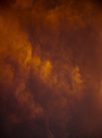 infierno: Cielo dramático
