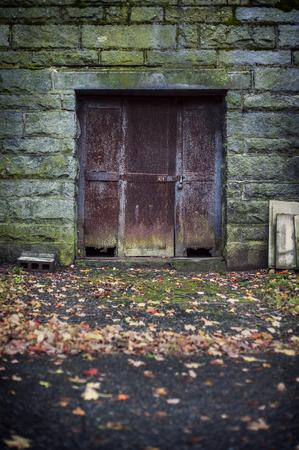 Old rusted door