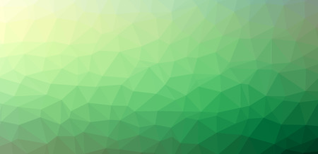 green abstract polygon background for website and graphic design Иллюстрация