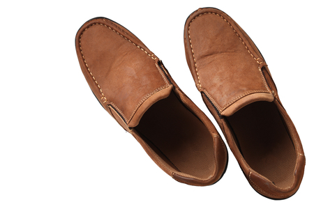 photoreal: Men Leather shoe casual shoes cowhide Brown Color