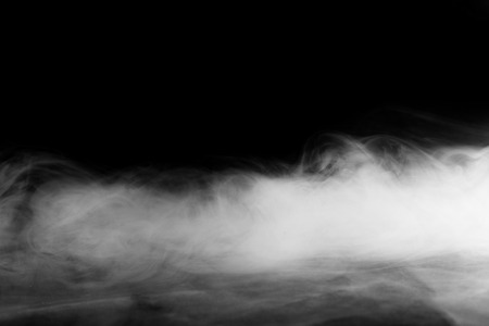 Abstract fog or smoke move on black color background