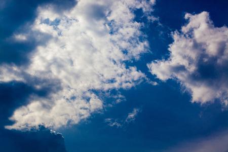 overcast: Dark clouds before rain - overcast Stock Photo