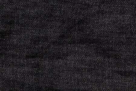 close up of black denim jeans texture for graphic design Standard-Bild