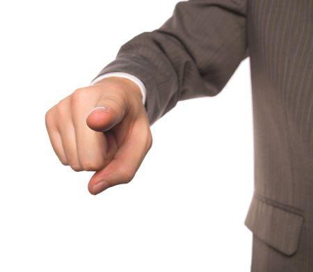 dedo indice: Se�alando con el dedo �ndice