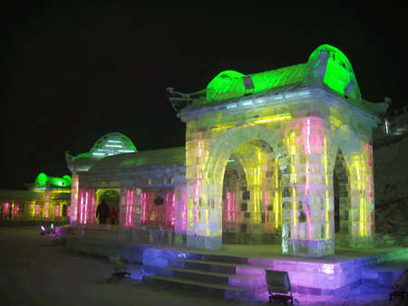 This is the art of ice from Haerbin of China.