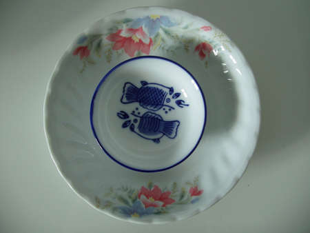 The dishware of porcelain from the China