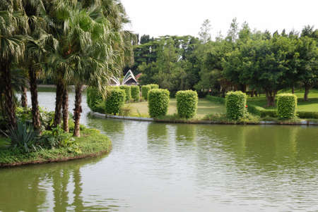This is a park in the  south of China.