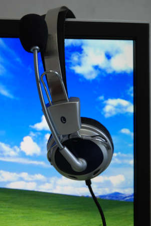 The PC and earphone