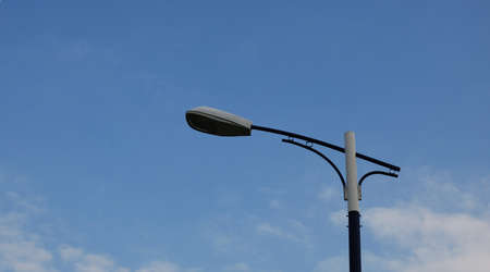 This is a light of street in the city of China. Stock Photo