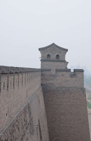 This is a ancient wall of city in the north of China.