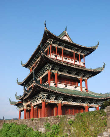 This is a ancient architecture in China photo
