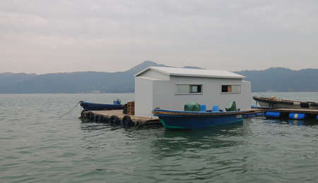 a house on the sea in the south of China