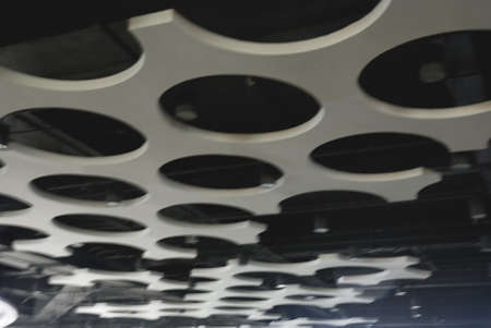 This is a ceiling in the building in Shanghai in China Stock Photo - 7449274