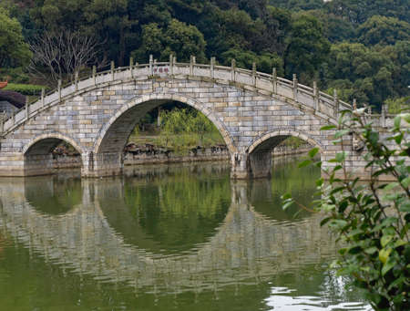 a stone bridge in the south of China.